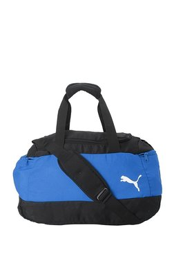 e3e87b63a38c Puma Pro Training II Royal Blue   Black Color Block Gym Bag