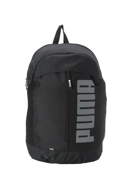 Puma Pioneer Black Solid Polyester Laptop Backpack 655cb240f000f