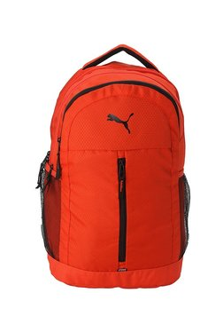 b7eaab6b170b Puma Pals Red Textured Polyester Laptop Backpack