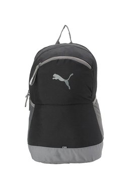 87e2cd472fc5 Puma Power Black   Grey Solid Polyester Laptop Backpack