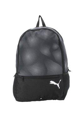 101958939a04 Puma Alpha Black   Grey Printed Polyester Laptop Backpack