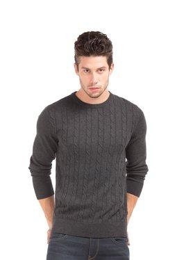 Nautica Charcoal Crew Neck Sweater