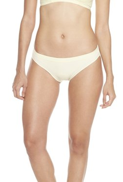 Wunderlove By Westside Yellow Seam-free Bikini Briefs