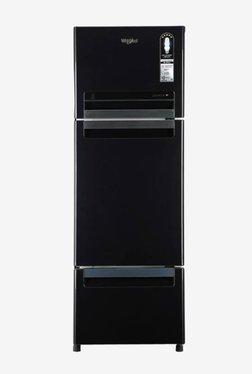 Whirlpool FP 263D Protton Roy 240L Frost Free Triple Door Refrigerator (Caviar Black)