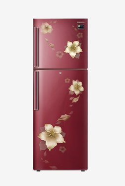 Samsung RT28N3342R2/HL 253L Inverter 2 Star Frost Free Double Door Refrigerator (Star Flower Red)