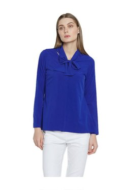 AND Royal Blue Full Sleeves Top