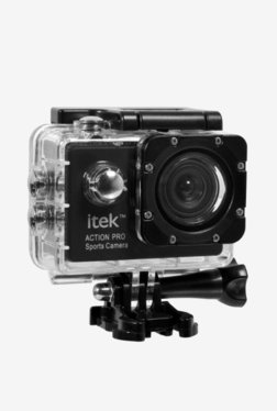 Itek Action Pro 12MP 2 Inch LCD Sports & Action Camera (Black)