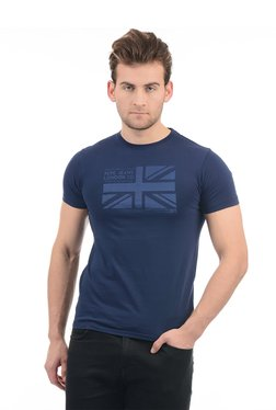 Pepe Jeans Navy Round Neck Slim Fit T-Shirt