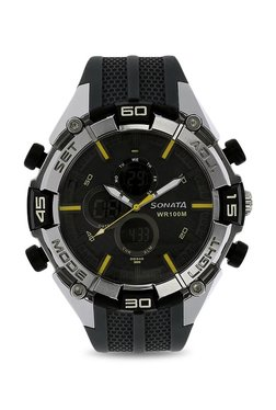 9bb176974ce Sonata NK77028PP01 SF Analog-Digital Watch for Men