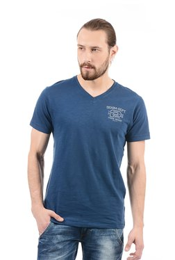 Pepe Jeans Dark Blue Slim Fit T-Shirt