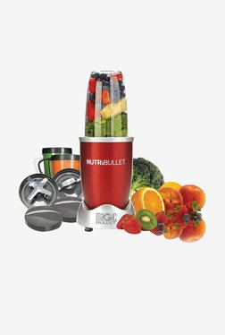NutriBullet NBR-1201R 12-Piece 600 Watts Blender/Mixer (Red)