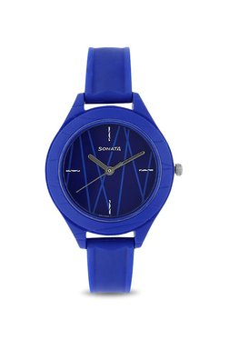 5878c4c7171 Sonata Kids 87023PP02 Color Pop Analog Watch for Girls