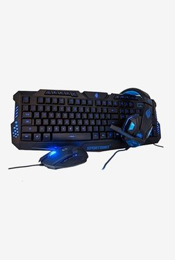 SportsBot SS301 Gaming Headset, Keyboard And Mouse Combo Set (Blue)