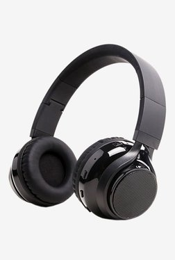 SoundBot SB250 Bluetooth Headphones with Mic (Black)