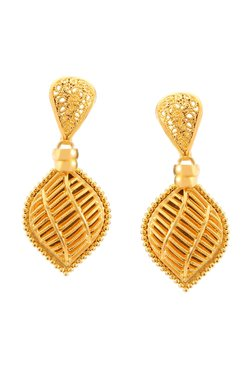 Tanishq 22k Gold Earrings
