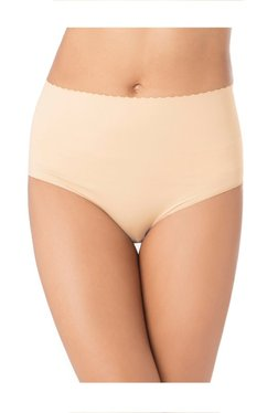 PrettySecrets Beige Seamless Shape Up Bikini