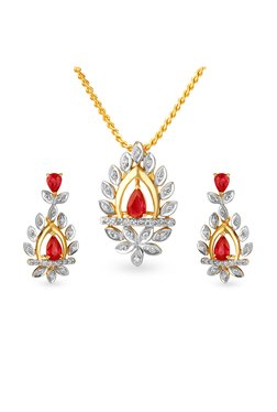 172ce306876faa Buy Tanishq Pendants & Sets - Upto 10% Off Online - TATA CLiQ
