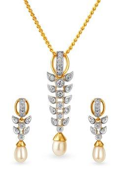 Buy Tanishq Pendants & Sets - Upto 30% Off Online - TATA CLiQ