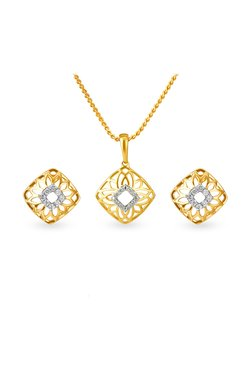 Buy Tanishq Pendants & Sets - Upto 30% Off Online - TATA CLiQ