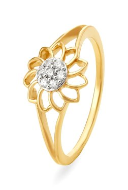 36a540179cce1 Buy Tanishq Rings - Upto 30% Off Online - TATA CLiQ