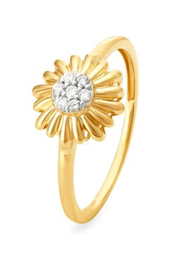 Tanishq Fl 18kt Gold Diamond Ring