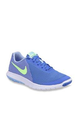 size 40 b9911 d9ba9 Nike Flex Experience RN 6 Blue Running Shoes