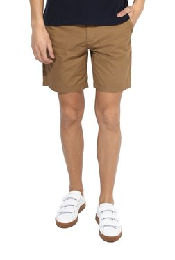 Red Tape Khaki Slim Fit Shorts