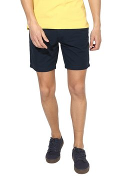 Red Tape Navy Slim Fit Shorts
