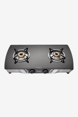 Preethi Blu Flame Streak GTS 103 2 Burners Gas Stove (Black)