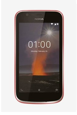 Nokia 1 8 GB (Warm Red) 1 GB RAM, Dual SIM 4G