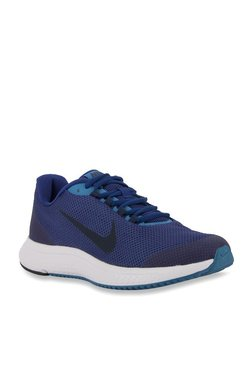 sale retailer 4092f 3fcd5 Nike Runallday Blue Running Shoes