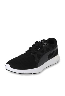 Puma NRGY Dynamo Black & Asphalt Grey Running Shoes