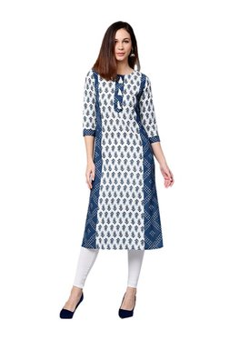20536802cad Buy Jaipur Kurti Kurtis   Kurtas - Upto 70% Off Online - TATA CLiQ