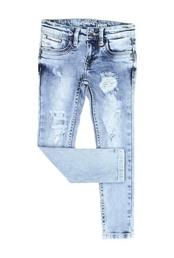 ecbce0ab8b Pepe Jeans Kids Blue Lightly Wash Jeans