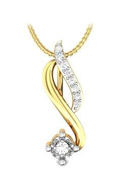 1042ac83c Candere by Kalyan Jewellers Elisa 18k Gold & 0.09 ct Diamond Pendant