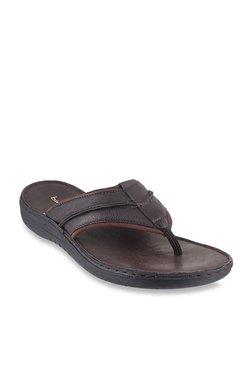 38086ae73d3 Bio-Foot by Metro Dark Brown Thong Sandals