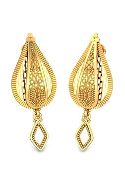 Candere By Kalyan Jewellers Aakriti 22k Gold Earrings