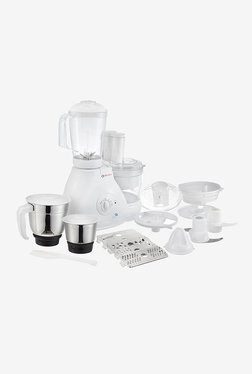 Bajaj FX11 600 W 3 Jars Food Processor (White)