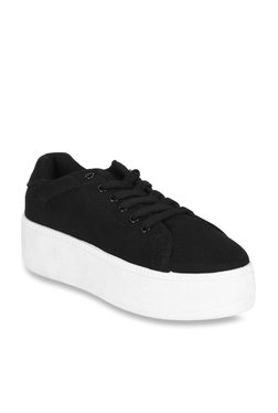 Truffle Collection Black Casual Sneakers