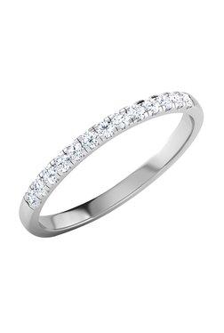 Caratlane Fee Glitter 18k Gold 0 117 Ct Diamond Ring