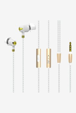 Boat Nirvaana CE-1 Bliss In the Ear Earphones with Mic (Glazy White)