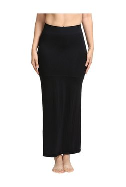 Zivame Black Polyamide Mermaid Saree Skirt