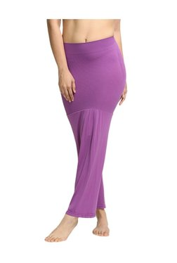Zivame Purple Polyamide Mermaid Saree Shapewear