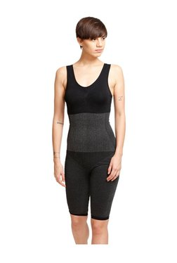 Zivame Black Polyamide Sculpting Bodysuit