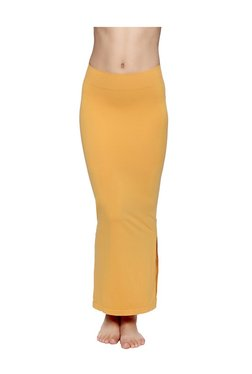 Zivame Mustard Polyamide Mermaid Saree Shapewear