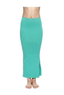 Zivame Turquoise Polyamide Mermaid Saree Shapewear
