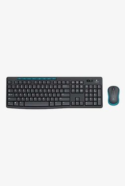 Logitech MK275 Wireless Keyboard And Mouse (Black)