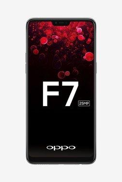 OPPO F7 64 GB (Silver) 4 GB RAM, Dual SIM 4G TATA CLiQ Rs. 18349.00