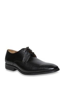 4ef472076cf Clarks Gilman Black Derby Shoes