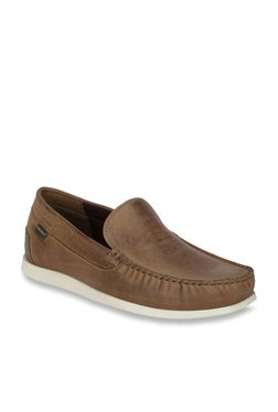 Red Tape Tan Casual Loafers